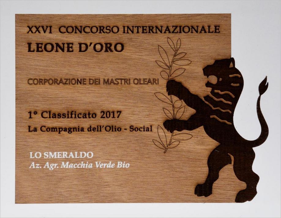 olivenöl auszeichnung leone d'oro