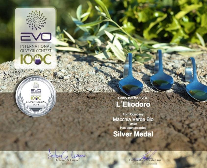 olio d'oliva premiato evo silver