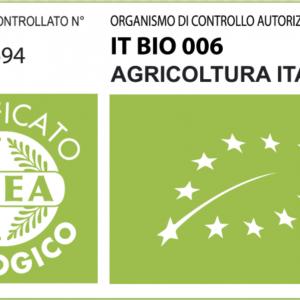 certificato di coltivazione biologica dell'olivo