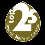 olio d'oliva premiato Biopress