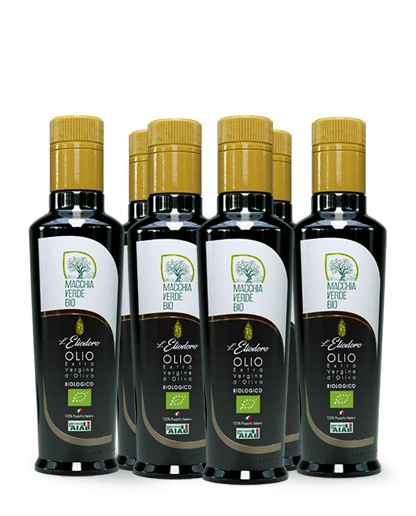 Olio Extravergine D'oliva Bio pugliese Eliodoro 250 ml