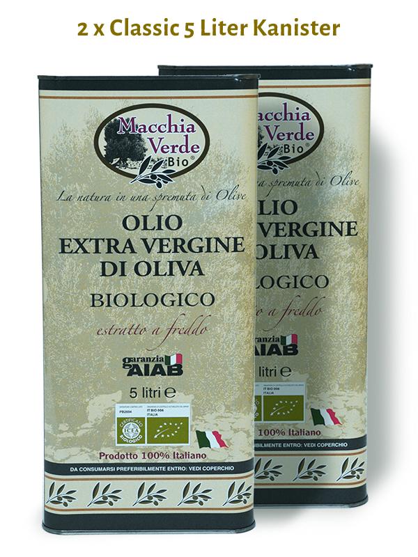 bio olivenöl 5 liter kanister frisch gepresst 2019/2020 mit hohem polyphenol-gehalt aus Italien