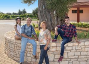 Famiglia Scarola olivicultori professionisti