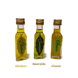 Olio EVO Tris Assaggio di olii di oliva extravergine pugliese