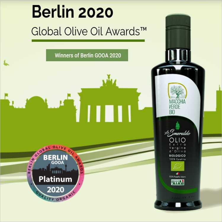 premio Global Olive Oil Awards di Berlino