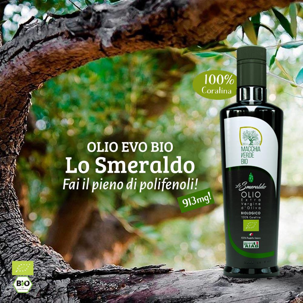 analisi polifenoli olio extravergine di oliva